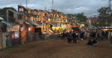 Seth Troxler, Thursday night, The Blues stage, Glastonbury festival 2017, 50K NEXO ALPHA Powered Dance System