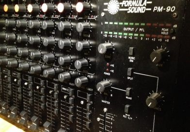 PM90 Classic mixer now fully restored to former glory