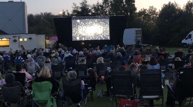 Working with Reaper Events.. Outdoor Cinema showing ' The Greatest Showman' in WSM